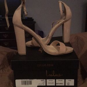 Lulus-New in Box-Size 5-They run big more of 5.5.